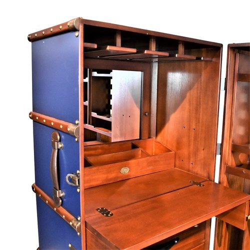 Authentic Models Stateroom Bar, Navy