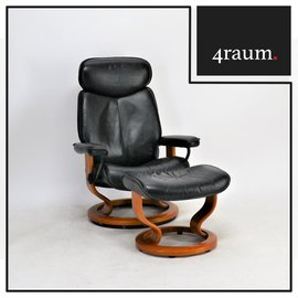 Ekorness Stressless Vintage mit Hocker